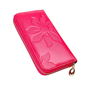 Genuine Leather Wallet Woman Wallet Female Carteira Feminina Women Purses Billetera Mujer Womens Wallets And Purses Change Purse