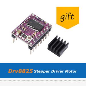 고품질 10pcs / lot 3D 프린터 부품 Stepstick Drv8825 Stepper Motor 드라이버 모듈 (냉각 방열판 포함)