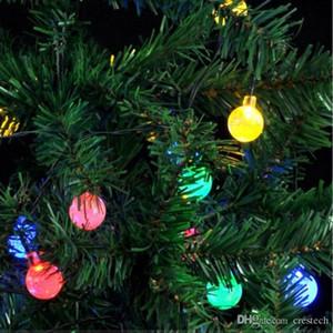 guirlande solaire lampes IP44 G45 led ampoules 2.5m 5m 10m led Noël lumière mariage lampe jardin de fées
