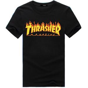 Erkekler Gömlek Çift Sport Tide Marka Giyim Tişört Hip Hop Harajuku Tişört Kadın Giyim M-3XL için Yaz Tasarımcı T Gömlek