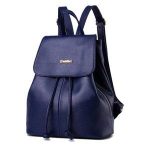 Zaino per studenti Borsa a tracolla per donna Designer College PU Leather Zaino per ragazza Dolce moda Borse da donna Borse Borse da viaggio a tracolla