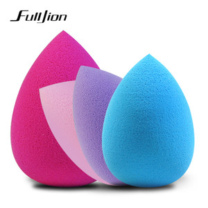 Fulljion Maquiagem Fundação Esponja Maquiagem Cosméticos Puff Creme Em Pó Suave Beleza Cosméticos Make Up Sponge Beleza Ferramentas Presentes