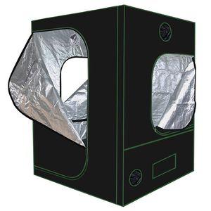 반사 형 Mylar Grow Tent 실내 식물 꽃을위한 Obeservation Window 및 Floor Tray가있는 녹색 식물 방 식물 성장 방수