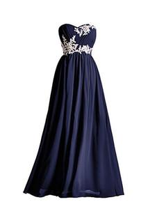 Marinha escura longo da dama de honra vestidos Applique perolização lantejoulas até o chão Sweetheart verde vermelho rosa azul Robe De Soiree vestido de baile