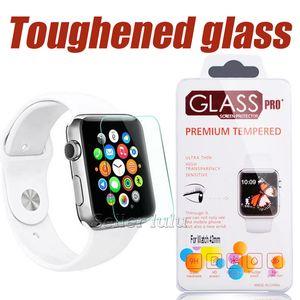 Для 38мм / 42мм Apple Watch 0.2мм 2.5D 9Н Закаленное Стекло Iwatch Flim Защитная пленка для экрана