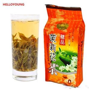 250г Китайский природный органический зеленый чай свежий жасмин цветок сырые чай Уход за здоровье Весна новый чай зеленый пищевой комбинат прямых продаж