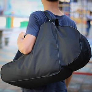 أسود مثلث الشكل واحد كتف حقيبة بكرة بكرة التزلج المعتاد العملية crossbody حقائب للبالغين السفر حقيبة 15 qd zz