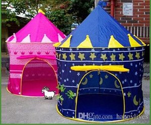 Kids Play Tent New Portable Girl Pink Princess Play Tent Childrens Kids Castle Cubby Play House Cute Toy Game House Baby Crawling House