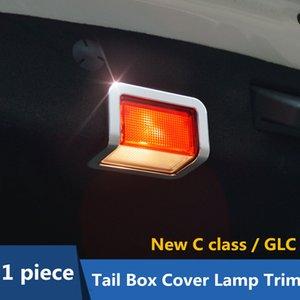lega di alluminio del contenitore di coda della lampada di copertura cornice decorazione copertura assetto per la classe di Mercedes-Benz Nuova C W205 GLC x253 2015-17