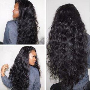 Cosplay noir crépu bouclés perruques synthétiques résistant à la chaleur Freetress cheveux Afro Kinky Curly Synthétique Perruque Avant de Lacet Pour Femmes Noires FZP83