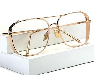 Hombres anteojos del marco óptico redondo anteojos de lectura de los vidrios anteojos para las mujeres anteojos grandes del marco de la miopía anteojos grandes