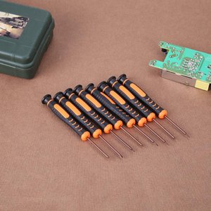 8pcs Precision Screwdriver Set Watch Computer Disassemble Tool with Hole Mobile Phone Repair Tool