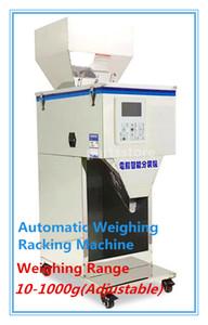 Food racking machine Granular powder materials packaging filling machine version installed high-quality 10-999g