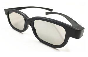 Universaltyp 3D-Brille Cyan Anaglyph Vision Reald 3D-Stereobrille Kunststoff für Plasma-TV-Spielfilm