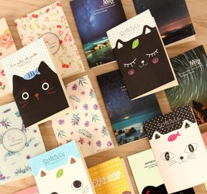 Netter Mini Notizblock Kleines Buch Comic Pocket Book klein und bequem Mini Notizblöcke Verschiedene Stile H0103