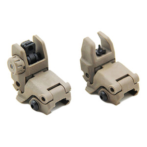 Tactique M4 AR15 AR-15 Sight Flip Up Up Front View Sight Repliable Backup pour Picatinny Rail