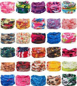 Bandanas Schals Multifunktionale Outdoor Radsport Masken Schal Magie Turban Sonnenschutz Haarband Reiten Cap Multi Styles