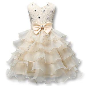 재고 있음 A 라인 Flower Girls '드레스 레이스 Girls Dressant Dresses 2018 소녀 교우 원피스 A 라인 Kids 포멀웨어 Flower Girl 's Dress