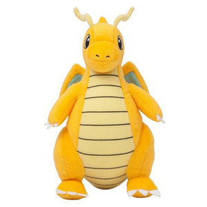 "Brinquedo de Pelúcia dos desenhos animados Dragonite 9 ""Bonito Collectible Macio Pika Charizard chu Stuffed Animal Boneca Peluche Para Presente Das Crianças"