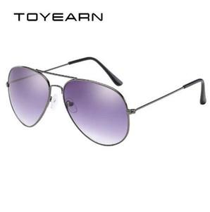 TOYEARN старинные классический бренд дизайнер мужской пилот солнцезащитные очки Женщины мужчины вождение UV400 зеркало солнцезащитные очки женский Oculos де соль