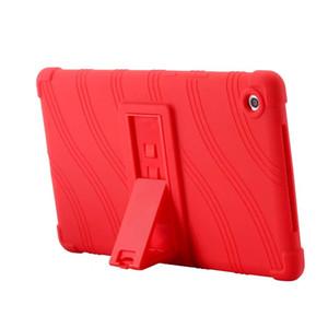 Housse en TPU souple en caoutchouc de silicone pour Huawei Mediapad M5 8.4 SHT-AL09 SHT-W09 8,4 pouces Tablet Housse de protection en sac de sac