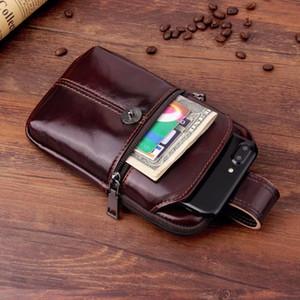 Cas de téléphone portable en cuir de vache véritable pour BlackBerry Aurora / Mercury, Oukitel U18 / C8 4G / K5 / K8000 / Mix 2 / U10