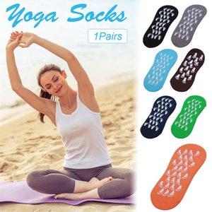 2018 nuevo deporte culturismo tamaño adulto 35-42 yardas de trampolín Yoga calcetines antideslizantes calcetines de interior ropa deportiva accesorios deporte calcetín