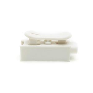 100 UNIDS Conectores de Alambre Cable Eléctrico Clamp Wiring Terminal Block ZQ-1P Fila Columna Push Butt LED Lámparas 1 pin