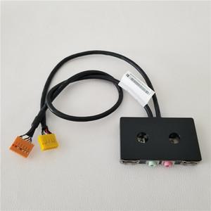 حالة المضيف USB 2.0 AC97 / HD AUDIO MIC مجلس الجبهة I / O لوحة لينوفو الهيكل PC DIY