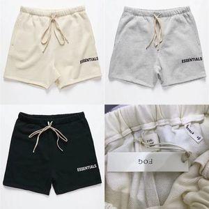 Estilo de verano pantalones cortos pantalones cortos Hombres Mujeres Niebla ESENCIALES Boxy