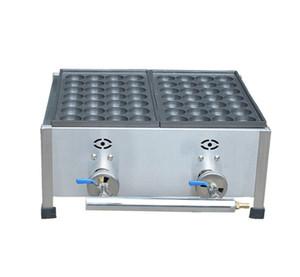 YENI Ticari Kullanım LPG Gaz Japon Ahtapot Balık Topu Takoyaki Maker Makinesi Endüstriyel gaz takoyaki makineleri