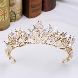 Cristais nupcial da borboleta Vintage Crowns strass Masquerade casamento Coroas Headband Cabelo Acessórios Partido Tiaras barroco Handmade chique