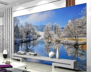 European 3D Photo Wallpaper Murals Nature scenery Wallpaper para sala de estar Habitación para niños Revestimiento de pared Murales 3D