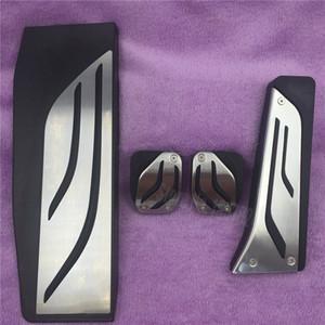 도매 가스 발판 수정 페달 패드 액세서리 BMW New 1 2 3 4 5 6 7 시리즈 GT X3 X4 Z4 F30 F31 F34 수동 장식 스티커