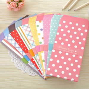 20 개 / 몫 한국 귀여운 만화 미니 다채로운 종이 봉투 귀엽다 작은 아기 선물 공예 봉투 웨딩 편지 초대장