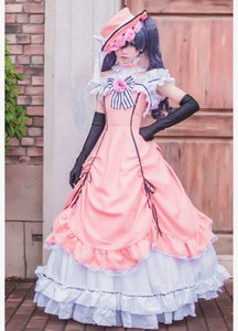 Costume de navire libre Costume Black Butler Ciel Phantomhive Robe Uniforme Halloween Fête De Noël
