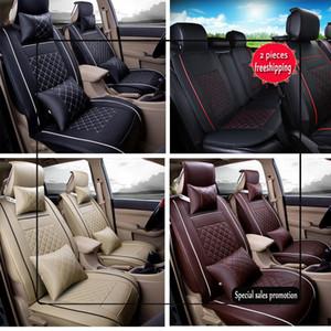 2017 de alta qualidade a partir do assento do carro US Tampa Tamanho L PU 5-assentos dianteiros RearFor BMW, Mercedes ,, Volkswagen, todos os modelos tampas de assento de carro