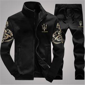 Designer Tuta da uomo Luxury Sweat Tute Autunno Marca Mens Jogger Tute Giacca + Pantaloni Imposta Tuta sportiva Hip Hop Set di alta qualità