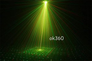 150MW Mini Red & Green Moving Party Laser led Stage Light laser DJ party light Twinkle With Tripod 110-240V lights for Disco DJ Party KTV