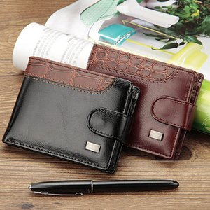 Baellerry Business Short Wallet Men Leather Hasp Men Purse With Coin Pocket Money Bag Clutch Trifold Wallet For Wallets