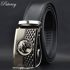 [PATEROY] ремень кожаный ремень мужчины Роскошные дизайнерские ремни мужчины высокое качество cinto Cinturones Hombre Ceinture Homme Luxe Marque riem