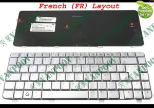 New Notebook Laptop keyboards for HP Pavilion dv4 dv4t dv4-1000 dv4-1200 dv4-1300 dv4-2000 Silver French FR AZERTY Clavier - NSK-H590F