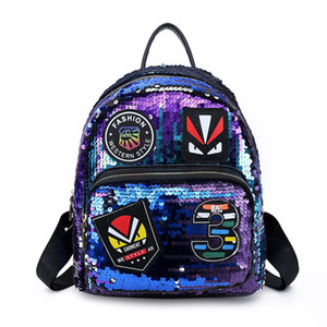 Free Shipping 2018 Hot New Arrival Fashion Women School Bags Hot Punk Style Men Backpack Designer Backpack Pu Leather Lady Bags 7548