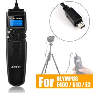 venta al por mayor TC-UC1 LED Selfie LCD Temporizador de control remoto Cable de liberación del obturador para OLYMPUS E-620 E-PLM1 EP5 E-PL5 E-M5 E-M10 RM-UC1