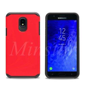 Slim armure pour Samsung A6 2018 J2 de base J260 J337 J7 atteindre J3 Affiner J737 2018 A20 A10e A30 A50 A70 S20 Ultra hybride givré couverture