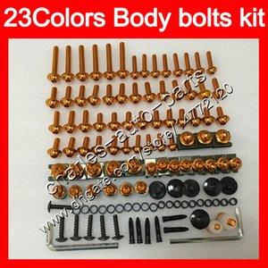 Kit completo de tornillos de carenado Para HONDA VTR1000F SuperHawk VTR 1000 F 1000F 97 98 99 00 01 02 03 04 05 Cuerpo Tuercas tornillos kit de perno tuerca 25 colores