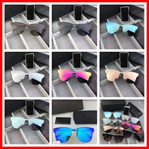 Lunettes de soleil Designer Sunglasses Aviation pour hommes, femmes auto-école Lunettes Reflective Coating Lunettes de vision nocturne de conduite Miroir