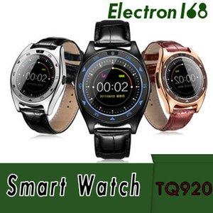 TQ920 Montre intelligente Bluetooth Montre intelligente avec fente pour carte SIM Message d'appel de carte TF TF 32G pour Android avec emballage de vente au détail