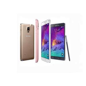 Reformiert Original Samsung Galaxy Note 4 Hinweis4 N910F N910A N910T 5,7 Zoll Quad Core 3 GB RAM 32 GB ROM 16MP 4G LTE SmartPhone