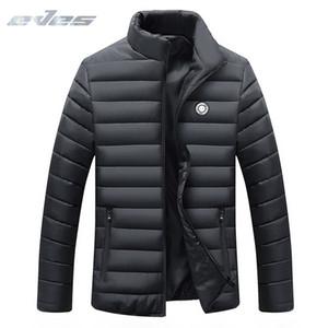 EVES jaqueta masculina теплый мужчины пуховик легкий вес вниз пальто casaco masculino инверно зима тонкий утка красный синий черный